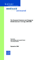 The-Economic-Downturn-and-Changes-in-Health-Insurance-Coverage-2000-2003-Report