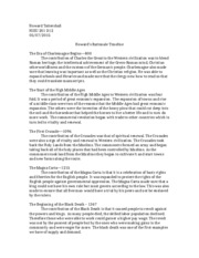 Rome Analytical Essay - by