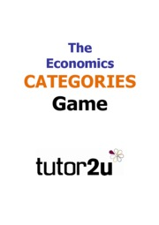 4-Economics_Catgeories