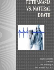 Euthanasia vs death natural power point.pptx