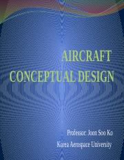 1_Aircraft design overview