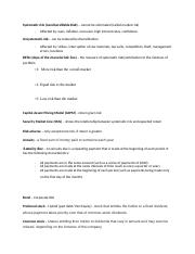 finance 300 study guide definitions test 2