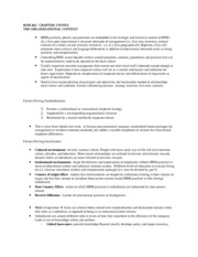 Chapter 3 Notes-IHRM Organizational Context