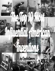 The Top 10 Most Influential American Inventions