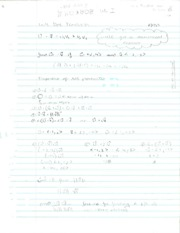 Pre-Calculus Dot Product Notes