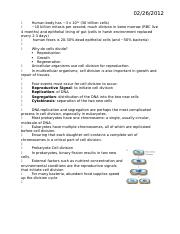 Biology 105 Notes Exam 2.docx
