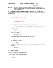 Chapter 11 Section 1 Read Assign KEY