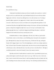 Personal Reflective Essay.docx