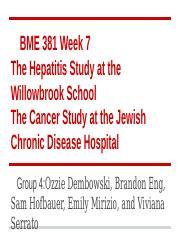 jewish chronic disease hospital study