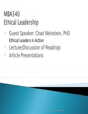 FLD 2016  M57 Ethical Leadership