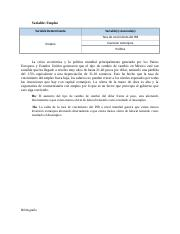 Variable Empleo- Paso 2