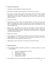 law 120 criminal law lecture notes 5 on outline of criminal trial