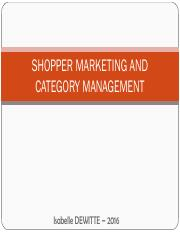 SHOPPER MARKETING Part 1
