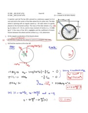CE 2080 Exam Two Solutions Spring 2014 3a