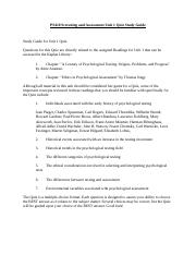 PS410 Screening and Assessment Unit 1 Quiz Study Guide.docx