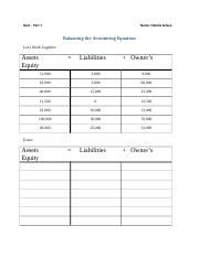 Balancing the Accounting Equation Quiz 1.docx