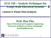 ECE530 Fall 2014 Lecture Slides 3