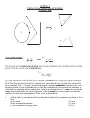 AP Physics 1 Uniform Circular Motion Notes and Worksheet, 2015-16.docx