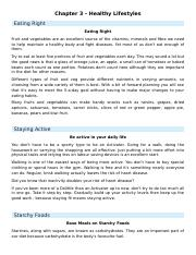 003 Notes - Healthy Lifestyles.docx