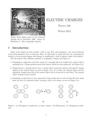 Electric Charges lab