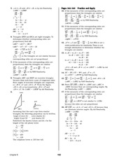 Pre-Calculus Homework Solutions 160