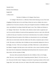 Thesis Statement Examples For Argumentative Essays  Reasons For Going To College Essay also English Essays Samples American Literature Study Resources Example Of A Biography Essay