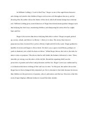 Lord of the flies (Final essay).docx