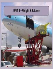 Unit 3 - Weight Balance.pdf