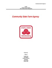 Community State Farm Agency Team C GM 600 1.8