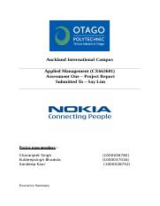 Project report on Nokia.docx