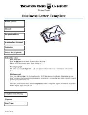 PDF Format Free Download Business Letter Template.pdf