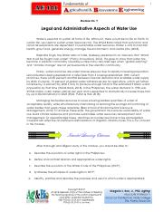 Legal Aspect of Water Use - Philippines.pdf