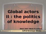 INGS 2601 lecture 9 2014_ed