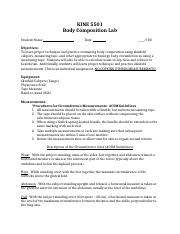 KINE 5501 Body Composition Lab DATA.docx