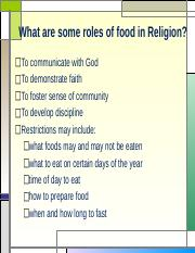 4.Religion and food (2)