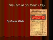 The Picture of Dorian Gray PPT