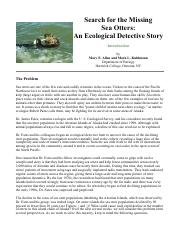 Search for the Missing Sea Otters-An Ecological Detective Story (1) (1)