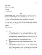 Business Law Case 2