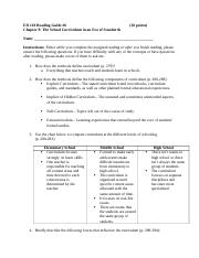 ED 210 Reading Guide 9