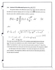 CHE 140 Review of Differential Equations Notes