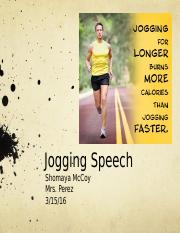 Jogging For Your Health