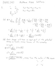 Midterm Exam Solution 2012