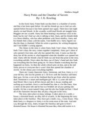 What are essays in language arts?