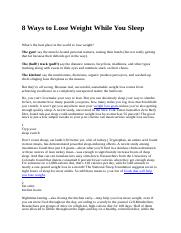 8 Ways to Lose Weight While You Sleep.docx