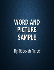 EDUC302_Word_and_Picture_Sample- Pierce