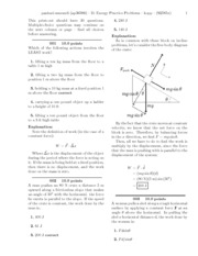 D. Energy Practice Problems-solutions