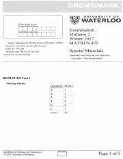 MATBUS470 midterm 2 W2017 solutions
