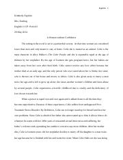 The color purple- The final draft Essay
