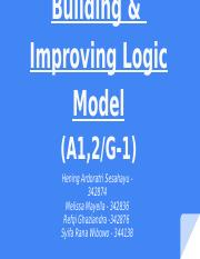 Introducing, Building, and Improving Logic Model