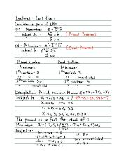 Linear Programming Lecture 11